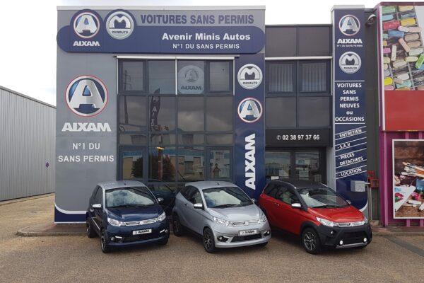 Voiture sans permis Aixam à Villemandeur (45) - Avenir Minis Autos
